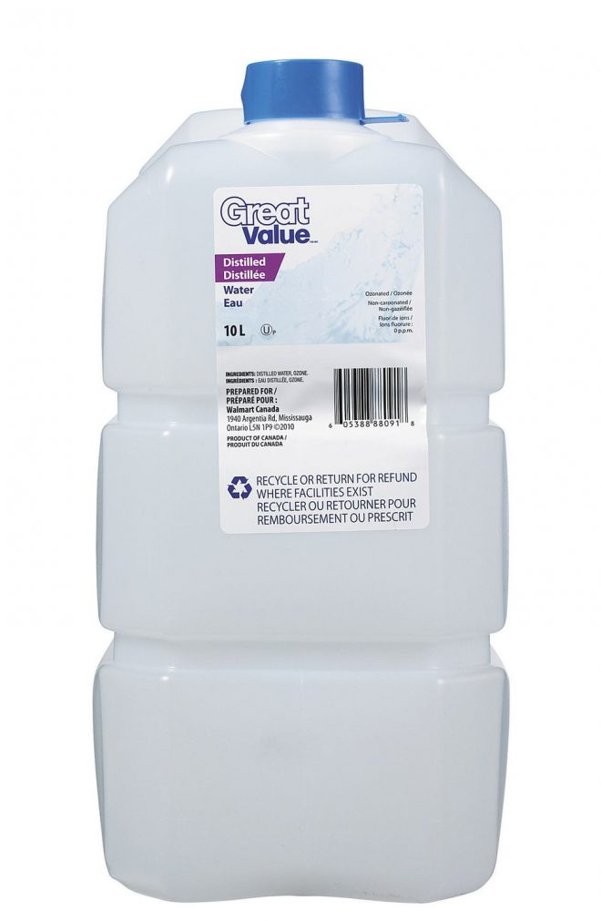 DISTILLED WATER 10L