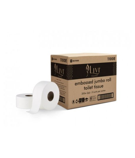 Livi-Essentials-embossed-bathroom-jumbo-Toilet-Paper-2ply-300m-1100E-460×540