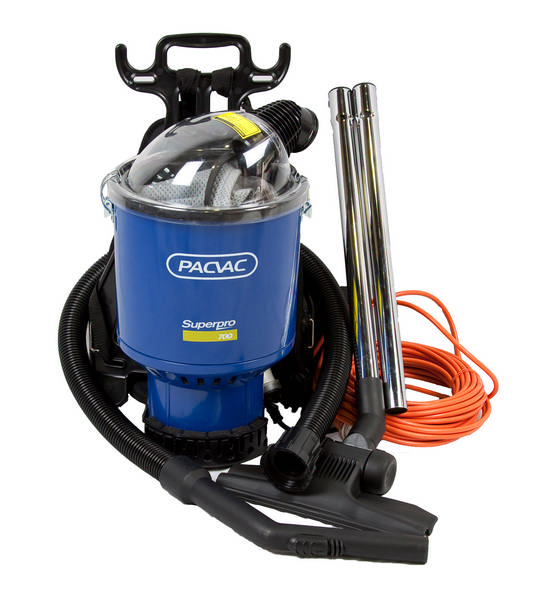 BACKPACK SUPERO 700 BACKPACK COMMERCIAL VACUUM CLEANER