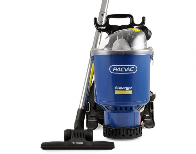 PACVAC SUPERPRO 700 Commercial Backpack vacuum
