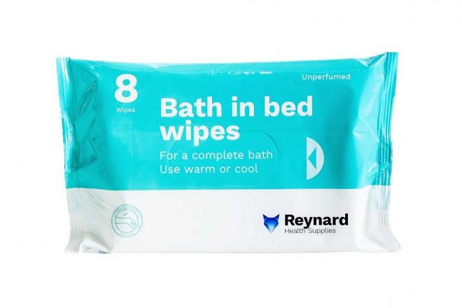 RHS102 Bath in Bed Wipes