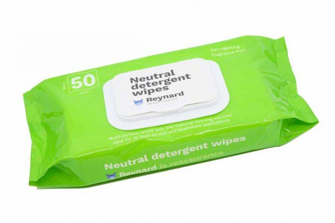 RHS201 Neutral Detergent Wipe