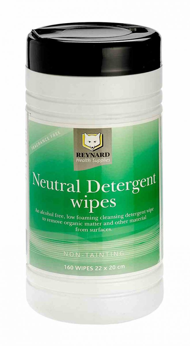 RHS203 Neutral Detergent Wipes Canister