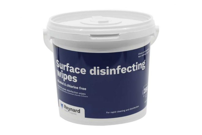 RHS205 Surface Disinfecting Wipes
